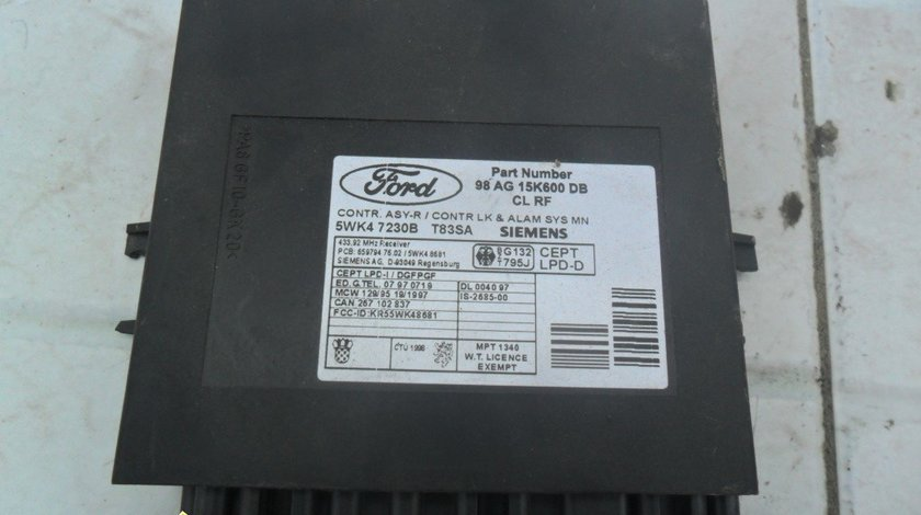 Modul confort Ford Mondeo