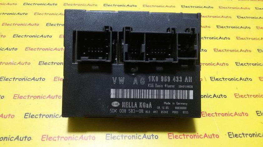 Modul Confort Skoda Octavia 1K0959433AH, 5DK00858308