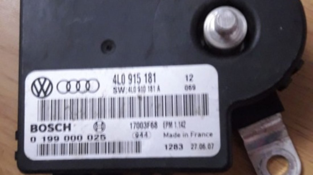 Modul control baterie Audi Q7 2007 4lo915181 3.0 TDI BUG 233 HP 7L