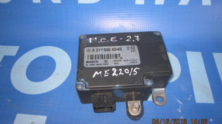 Modul control baterie Mercedes E220 W211; A2115404245
