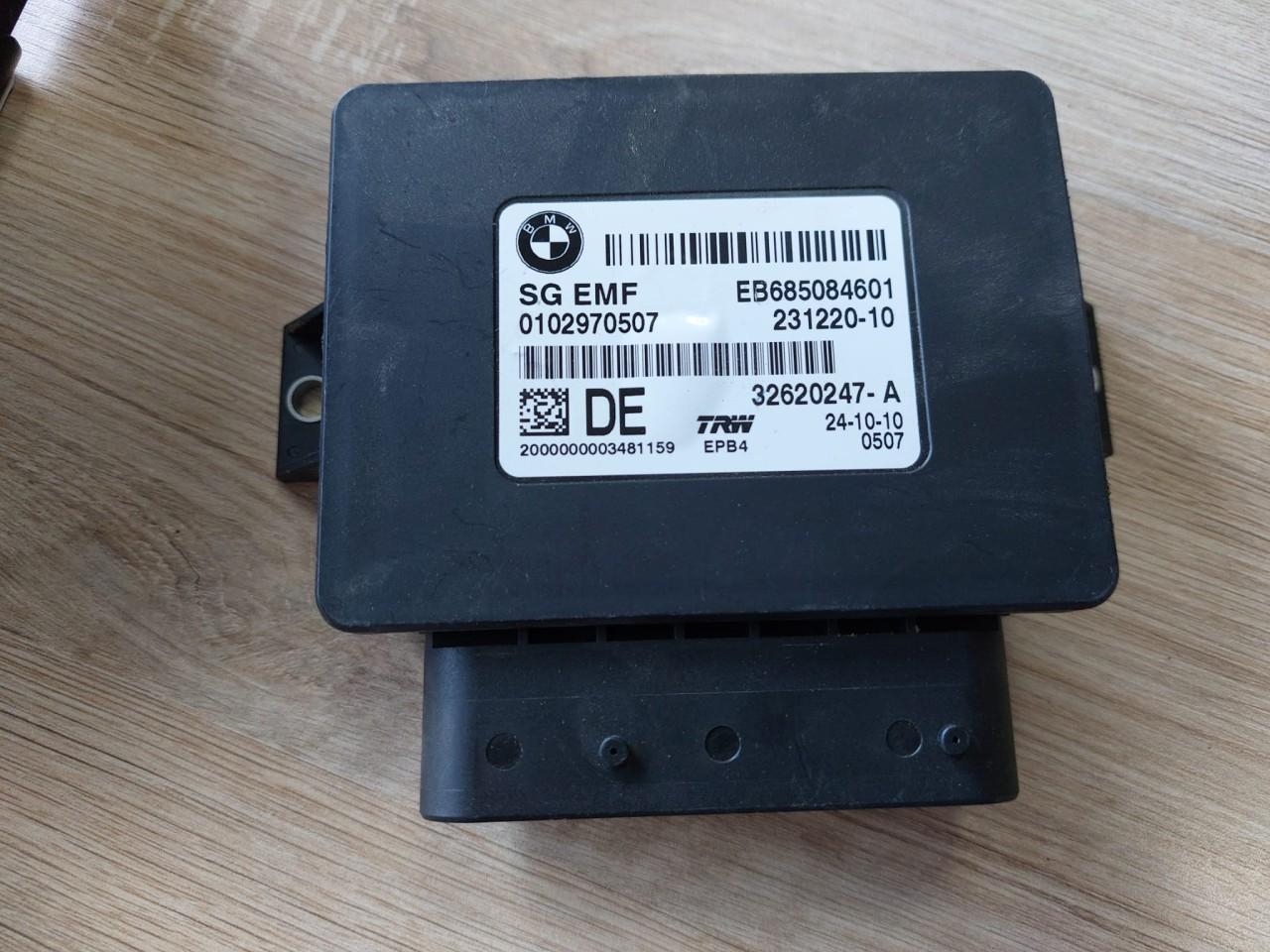 Modul Control BMW Seria 5 F10 32620247A, 23122010  EB685084601, 0102970507