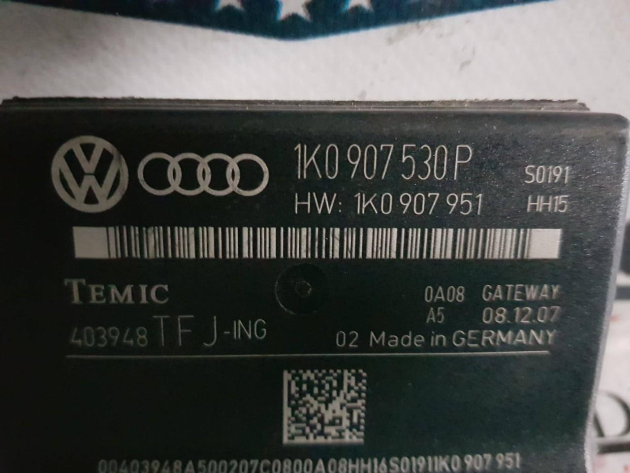 Modul control central Gateway Audi A3 8P 1k0907530p