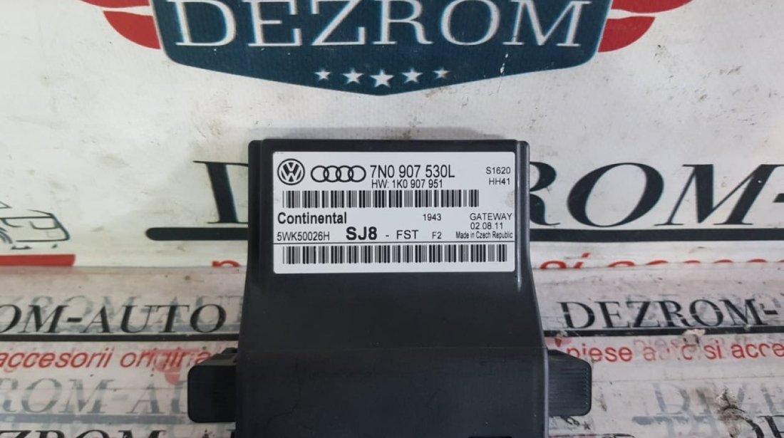 Modul control central Gateway VW Golf 6 Plus 7n0907530l