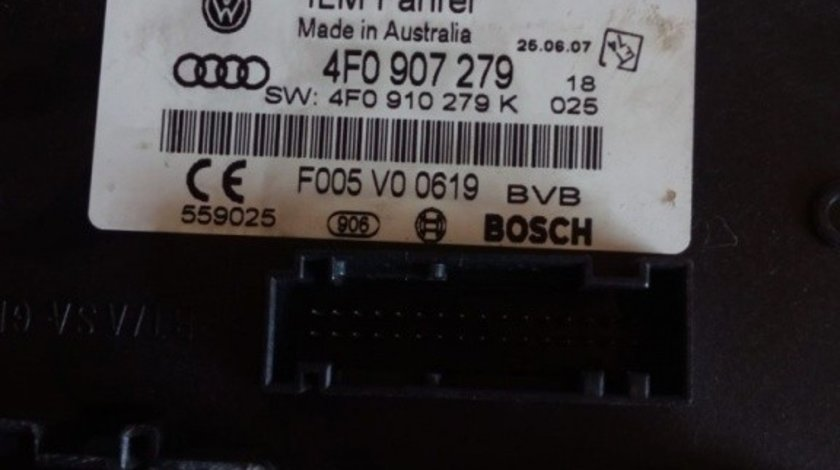 Modul Control Lumini Audi A6 4F0907279