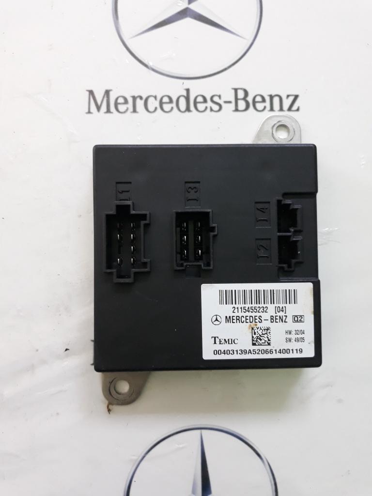 Modul control Mercedes E class W211 cod A2115455232