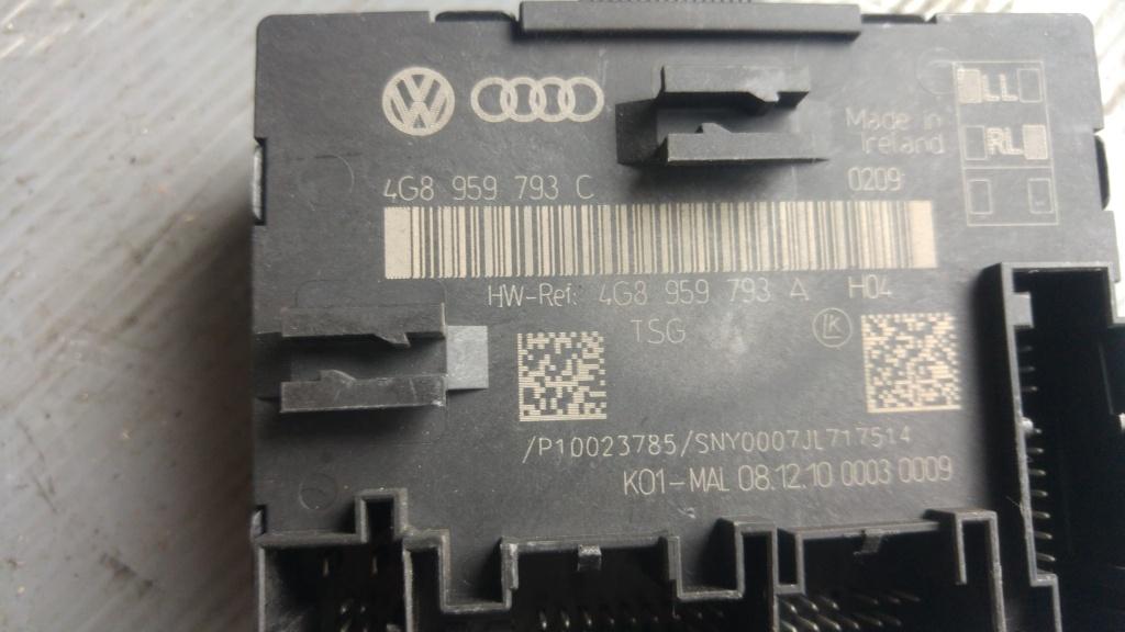 Modul control usa dreapta fata audi a7 4g 4g8959793c