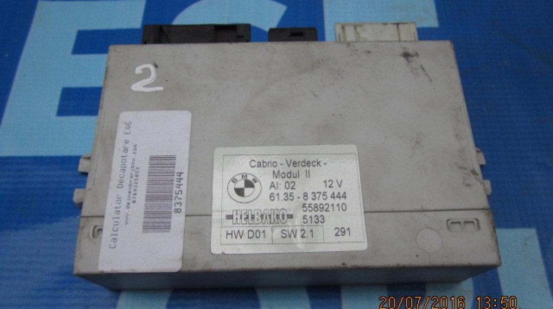 Modul decapotare BMW E46: 61.35-8 375 444