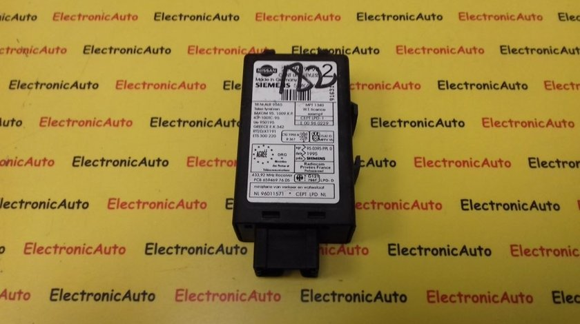 Modul Electronic Nissan Almera, 285969F98