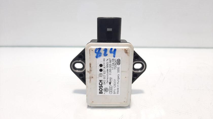 Modul ESP, cod 8K0907637A, Audi A4 (8K2, B8), 2.0 tdi, CAG (id:459921)