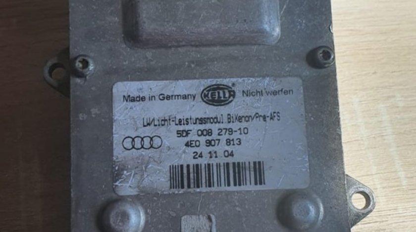 Modul far Audi A6 C6 4F / A8 4E D3 2004-2010 5DF008279-10 4E0907813
