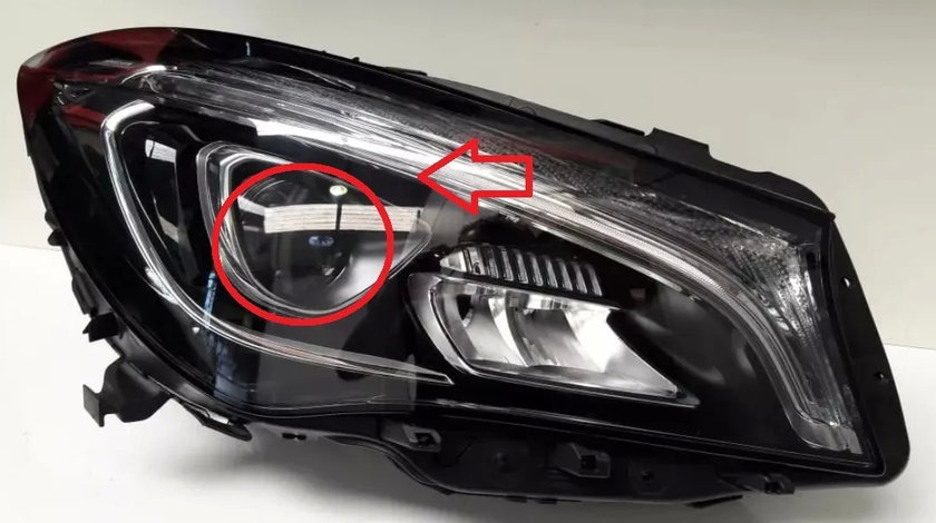 Modul far led faza scurta Mercedes CLA (2017) C117 cod 7971850001 / 7970850001