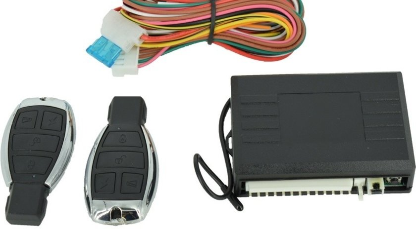 Modul Inchidere Centralizata 354 Universala cu Telecomanda Tip Mercedes cu 5 Functii si Iesire Sirena