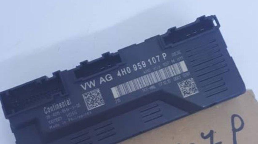 Modul inchidere centralizata capota portbagaj 4H0959107P 4H0959107M Audi A8 4H D4 2010-2016