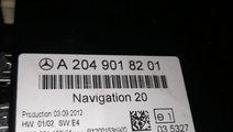 Modul navigatie a2049018201 Mercedes e 200 class 2...