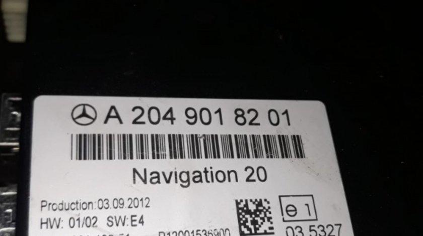 Modul navigatie a2049018201 Mercedes e 200 class 2.2 cdi w212 2010 mot