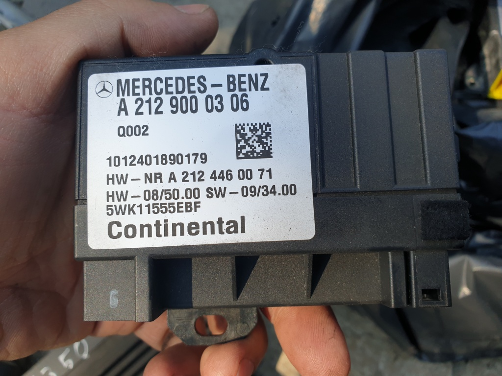 Modul pompa combustibil Mercedes E Class W212, cod A2129000306