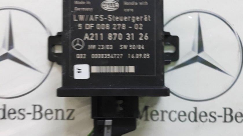 Modul reglare faruri Mercedes cod A2118703126
