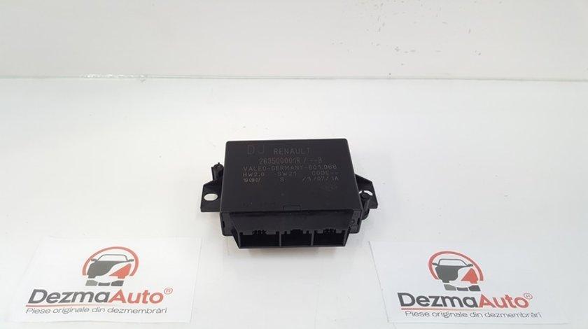 Modul senzori parcare 263500001R, Renault Laguna 3 (id:341213)