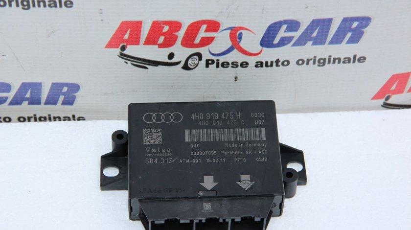 Modul senzori parcare Audi A8 D4 4H cod: 4H0919475H model 2014