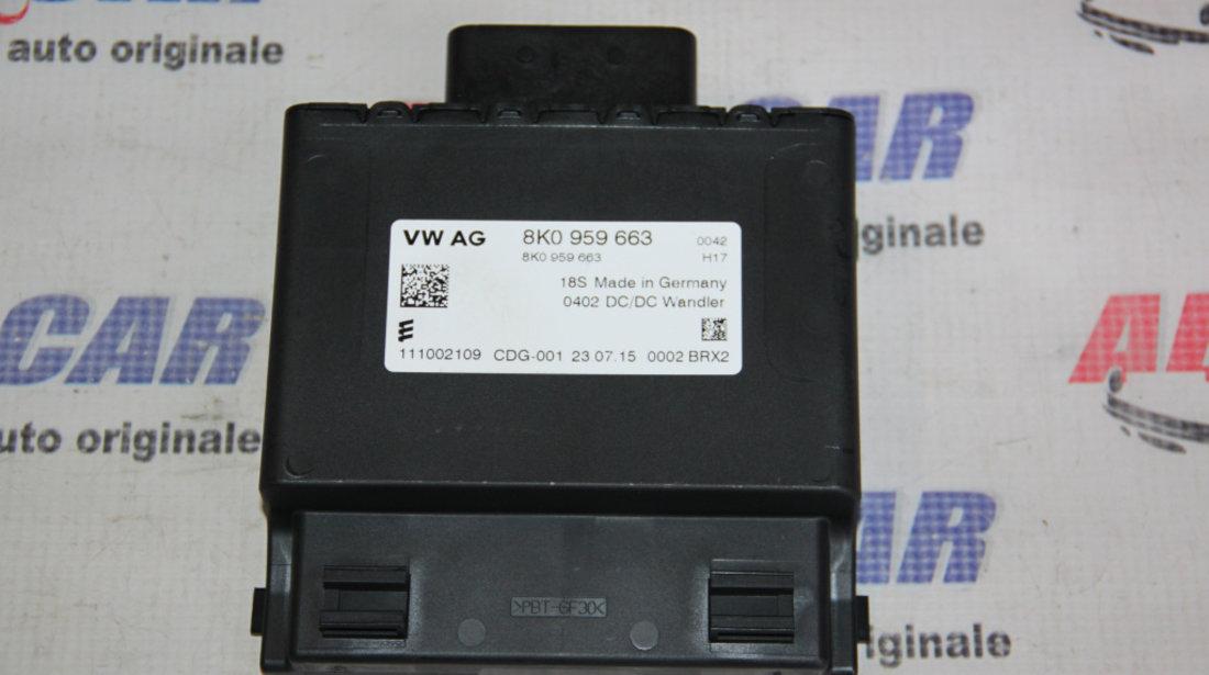 Modul stabilizator tensiune Audi A4 B8 8K cod: 8K0959663 2008-2015