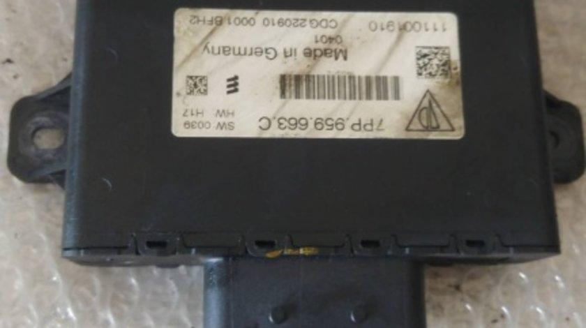 Modul start stop porsche cayenne 92a 7pp959663c