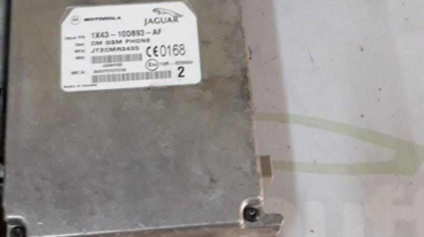 Modul Telefon Jaguar S Type X400 (1999-2008) 3.0I JT2CMR3435 1X43-10D893-AF 1X4310D893AF