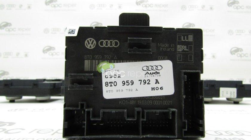 Modul usa dreapta fata Audi A4 B8 (8K) / A5 8T - Cod: 8T0959792A