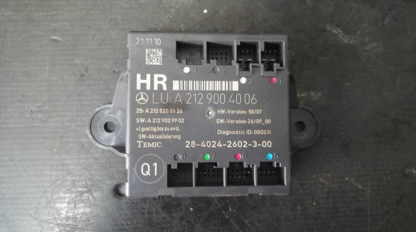 Modul usa dreapta spate mercedes c-class w204 break a2129004006