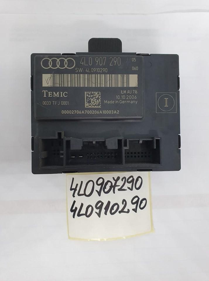 Modul usa dreapta spate (volan pe stanga) original Audi Q7 4L 2006-2015 cod: 4L0907290 / 4L0910290