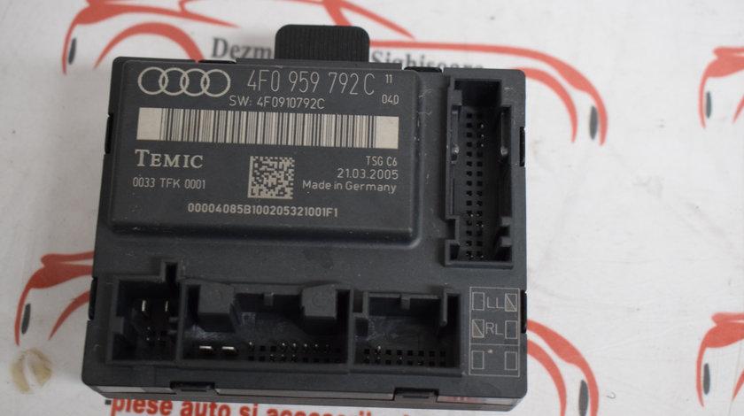 Modul usa fata dreapta Audi A6 C6 4F0959792C 2007 534