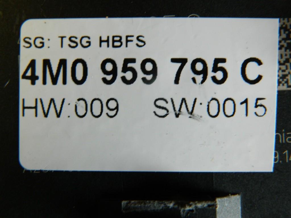 Modul usa stanga spate Audi A4 B9 8W cod: 4M0959795C model 2016