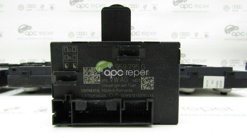 Modul usa stanga spate Audi Q5 8R / Audi A4 B8 8K / S4 - Cod: 8K0959795G