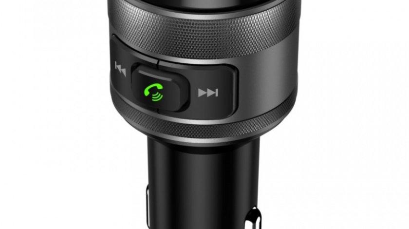 Modulator FM Bluetooth Akai Bluetooth, Usb, Functie Incarcator Telefon, Microfon Incorporat, Afisaj Led