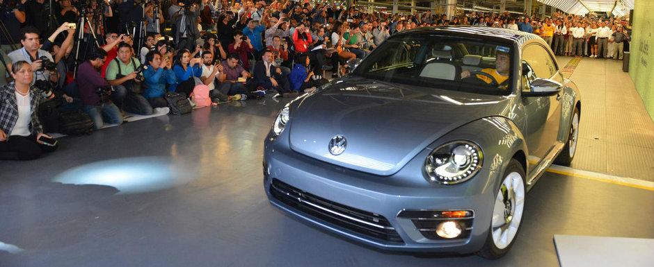 Moment istoric pentru Volkswagen. Ultimele exemplare BEETLE au fost deja asamblate in Mexic