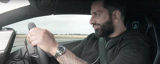 Momentul acela cand masina ta de 390.000 de euro ia bataie de la una mult mai ieftina, cu motor mai mic si cai mai putini. VIDEO