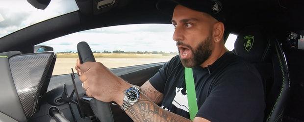 Momentul acela cand masina ta de peste 400.000 de euro ia bataie de la una mult mai ieftina, cu motor mai mic si cai mai putini. VIDEO
