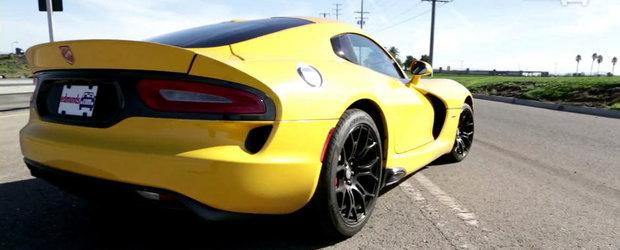 Momentul adevarului: Cat de performant este in realitate noul Dodge Viper