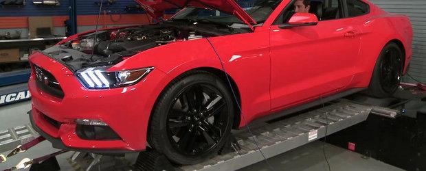 Momentul adevarului: Cati CP are, de fapt, noul Ford Mustang Turbo?