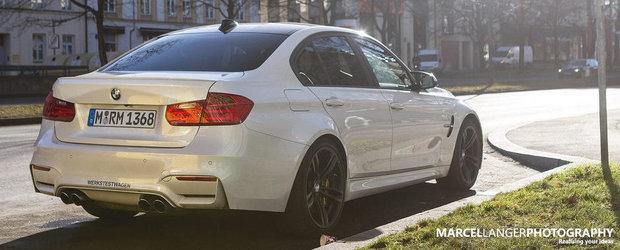 Momentul adevarului: Cum arata in realitate noul BMW M3 Sedan