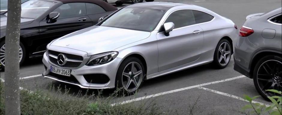 Momentul adevarului: Cum arata in realitate noul Mercedes C-Class Coupe