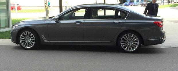 Momentul adevarului: Cum arata in realitate noul BMW Seria 7