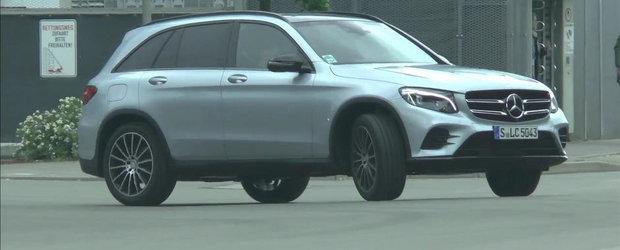 Momentul adevarului: Cum arata in realitate noul Mercedes GLC