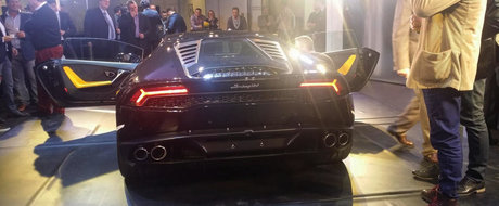 Momentul adevarului: Cum arata in realitate noul Lamborghini Huracan