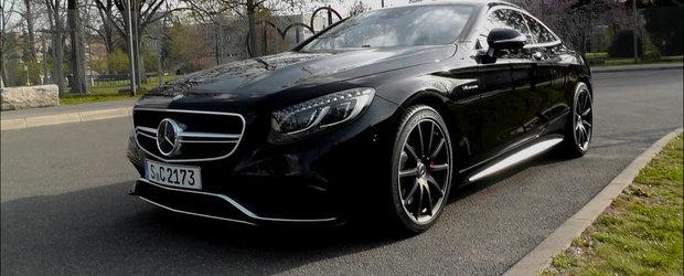 Momentul adevarului: Cum arata in realitate noul Mercedes S63 AMG Coupe
