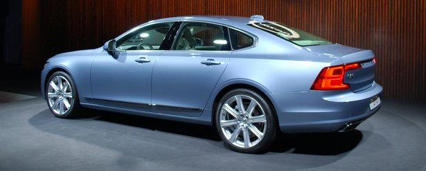 Momentul adevarului: Cum arata in realitate noul Volvo S90
