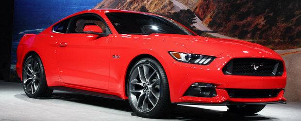 Momentul adevarului: Cum arata in realitate noul Ford Mustang