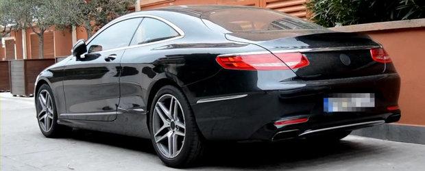 Momentul adevarului: Cum arata in realitate noul Mercedes S-Class Coupe