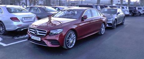 Momentul adevarului: Cum arata in realitate noul Mercedes E-Class