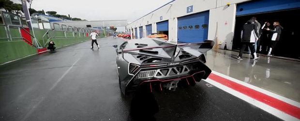 Momentul adevarului: Cum arata si cum se aude in realitate noul Lamborghini Veneno