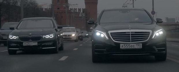 Momentul asteptat de toata lumea. Test comparativ intre BMW Seria 7 G12 vs Mercedes S-Class W222